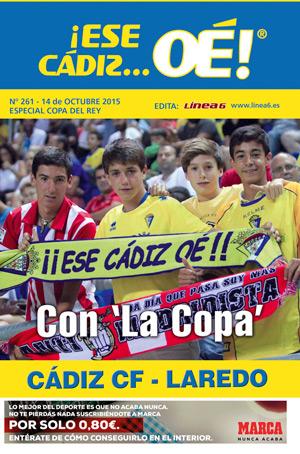 ¡Ese Cádiz…Oé! núm. 261 Temporada 2015/16