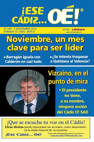 ¡Ese Cádiz…Oé! núm. 263 Temporada 2015/16