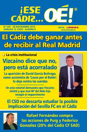 ¡Ese Cádiz…Oé! núm. 265 Temporada 2015/16