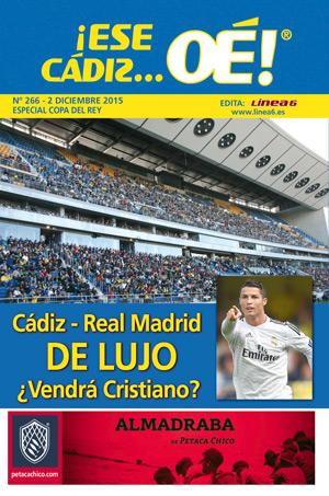 ¡Ese Cádiz…Oé! núm. 266 Temporada 2015/16