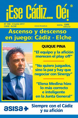¡Ese Cádiz…Oé! núm. 306 temporada 2016/17