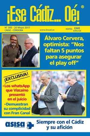¡Ese Cádiz…Oé! núm. 305 temporada 2016/17