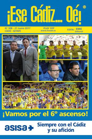 ¡Ese Cádiz…Oé! núm. 308 temporada 2016/17
