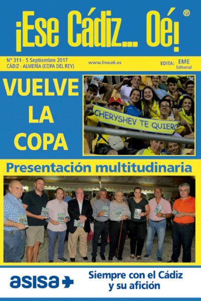 ¡Ese Cádiz…Oé! núm. 311 temporada 2017/18