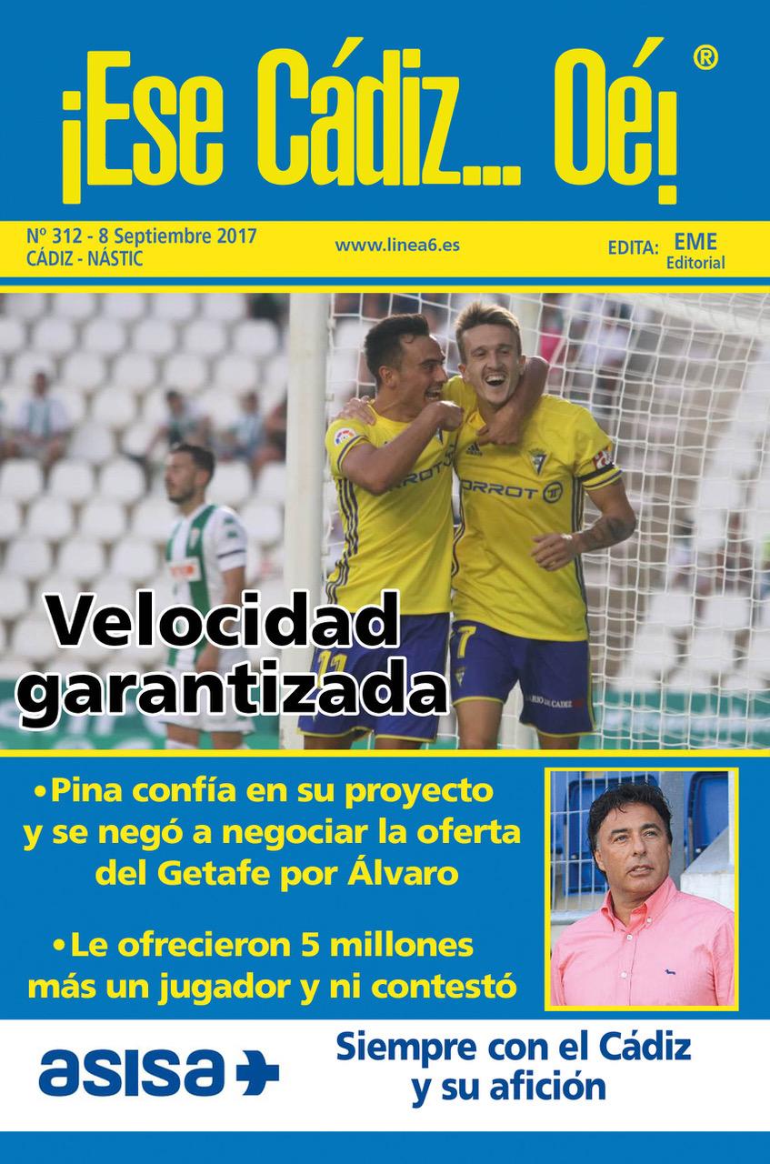 ¡Ese Cádiz…Oé! núm. 312 temporada 2017/18