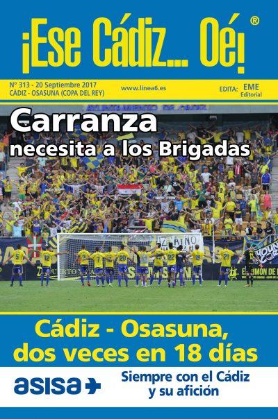 ¡Ese Cádiz…Oé! núm. 313 temporada 2017/18