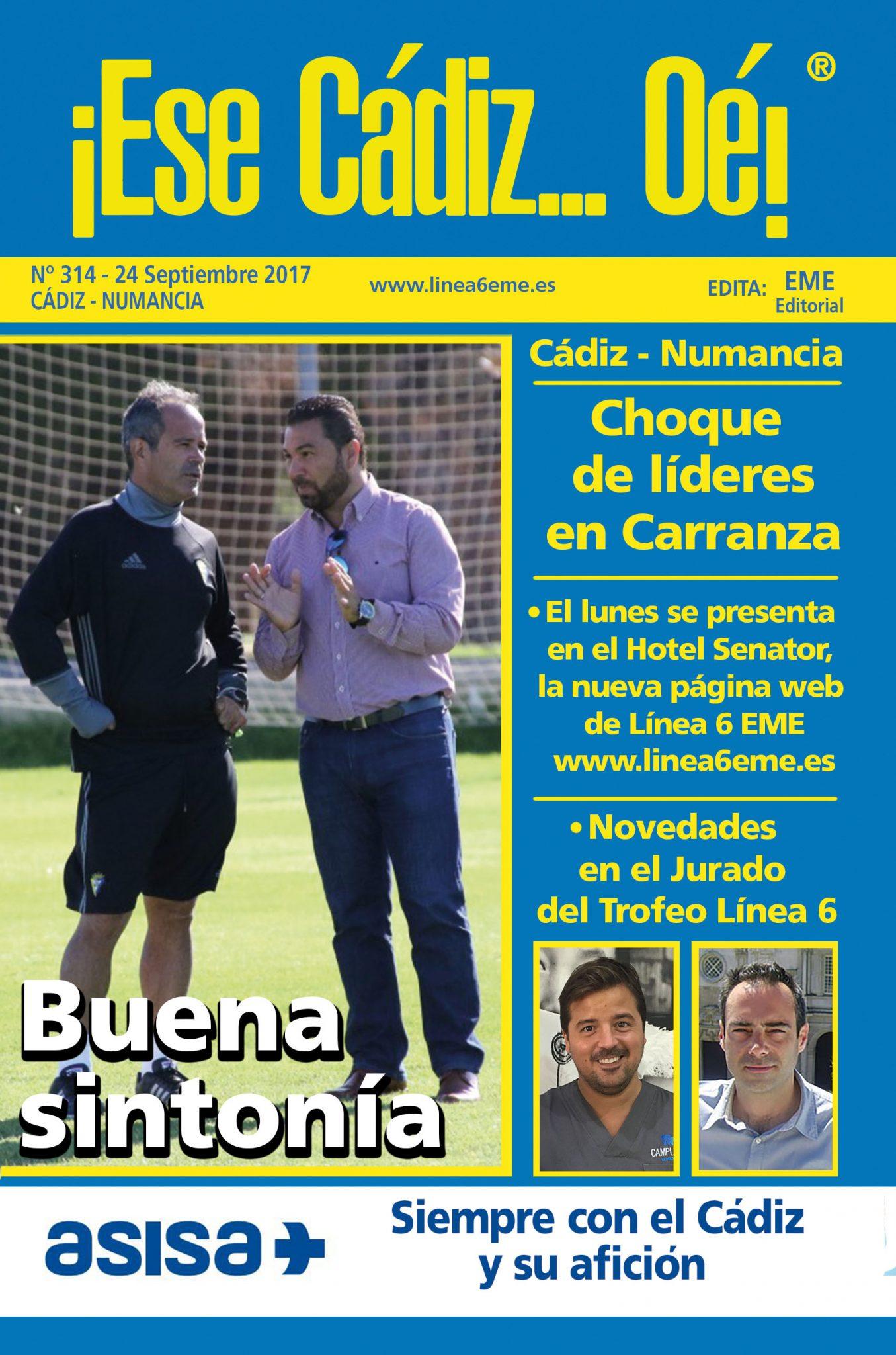 ¡Ese Cádiz…Oé! núm. 314 temporada 2017/18