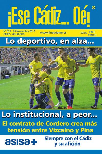 ¡Ese Cádiz…Oé! núm.320 Temporada 2017/18