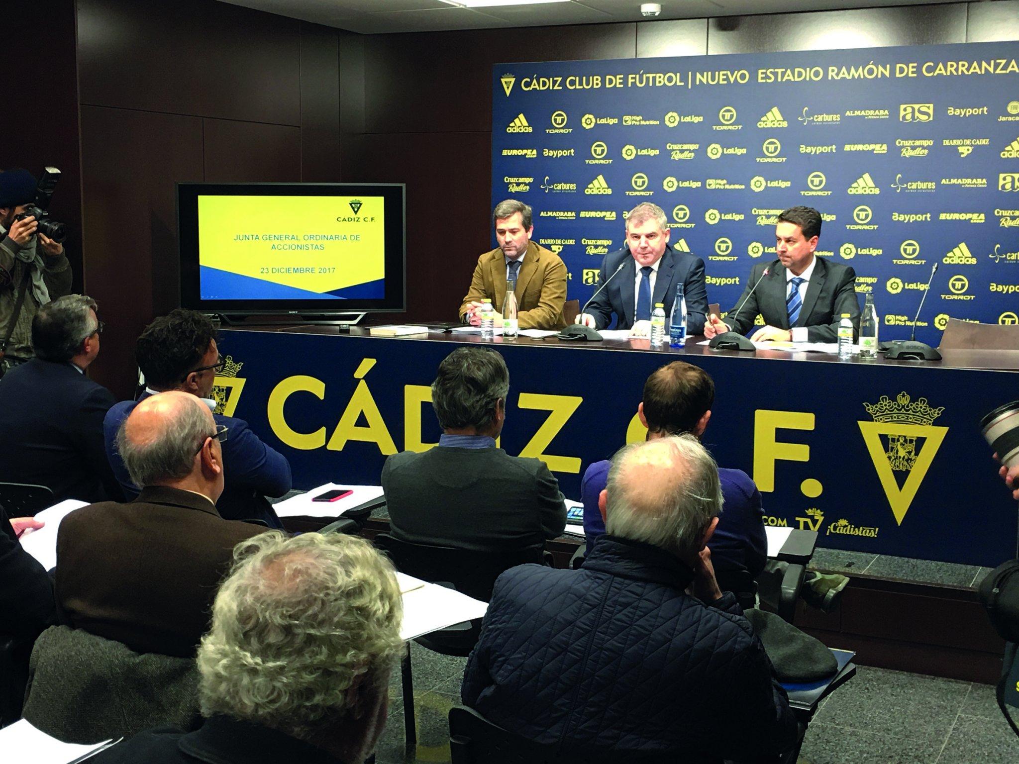 Los accionistas aprueban lo que quiere Vizcaíno, y Pina asiste y protesta por no tener las cuentas