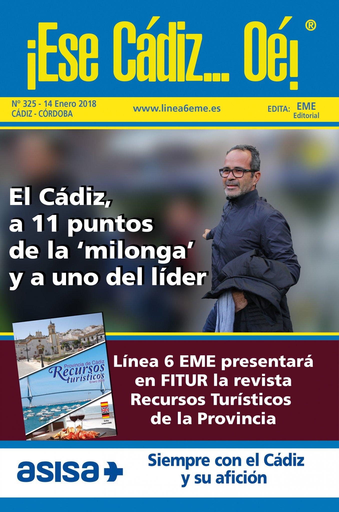¡Ese Cádiz…Oé! núm. 325 Temporada 2017/18