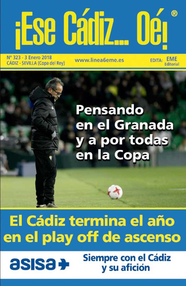 ¡Ese Cádiz…Oé! núm. 323 Temporada 2017/18