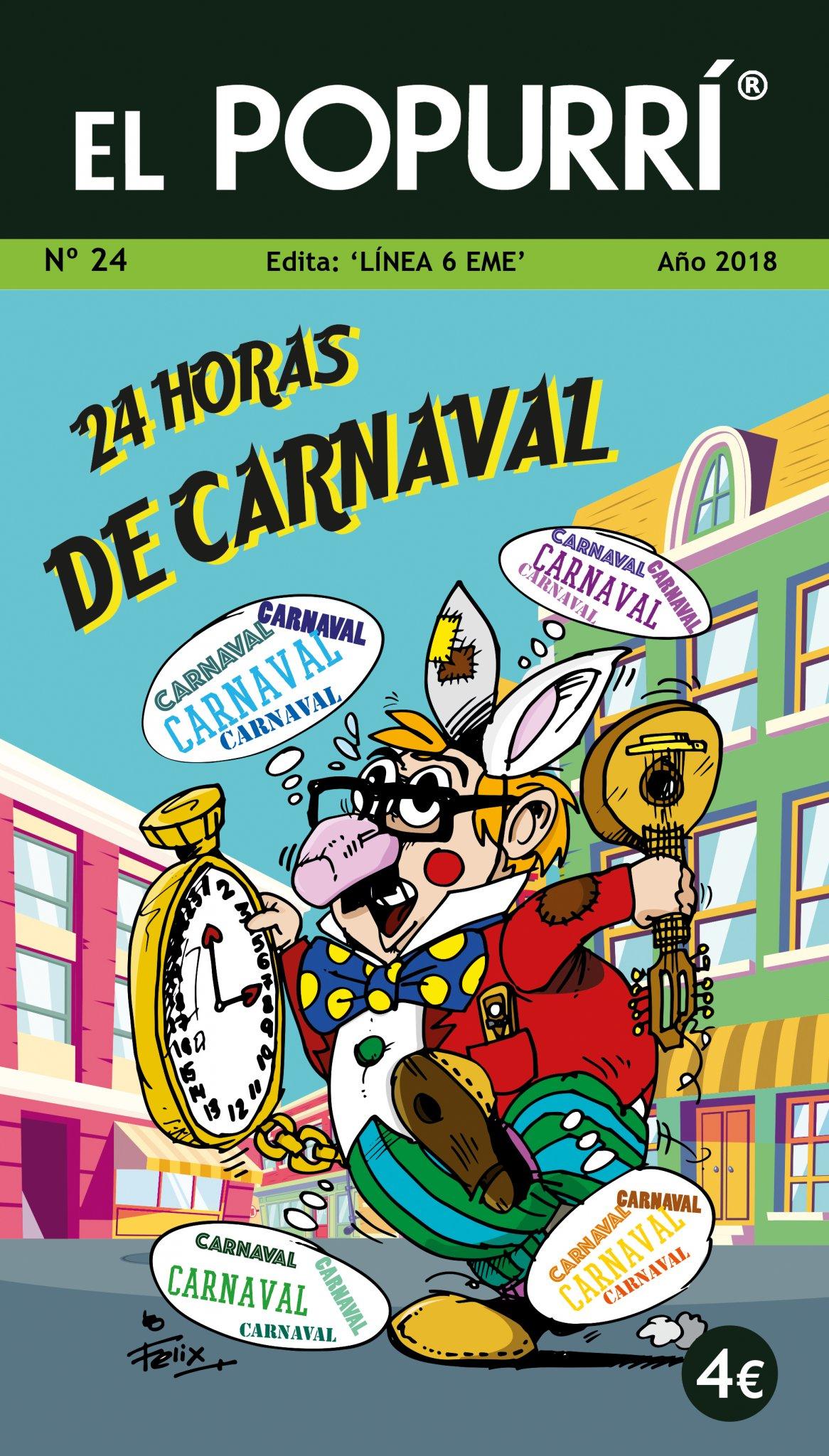 'El Popurrí' del Carnaval de Cádiz 2018