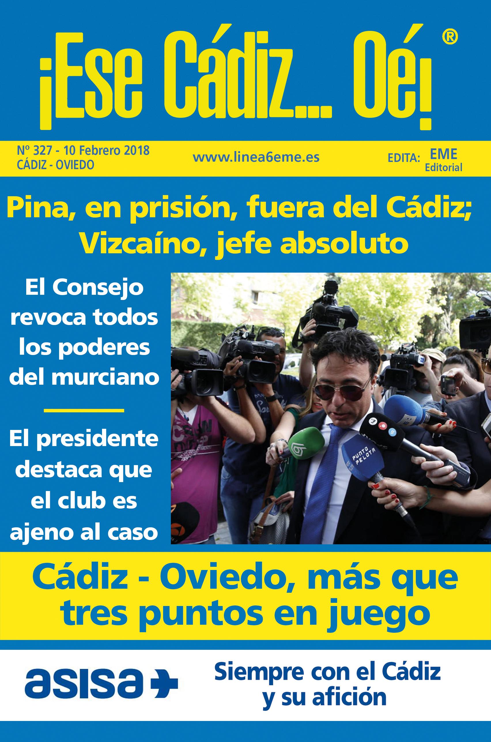 ¡Ese Cádiz…Oé! núm. 327 Temporada 2017/18