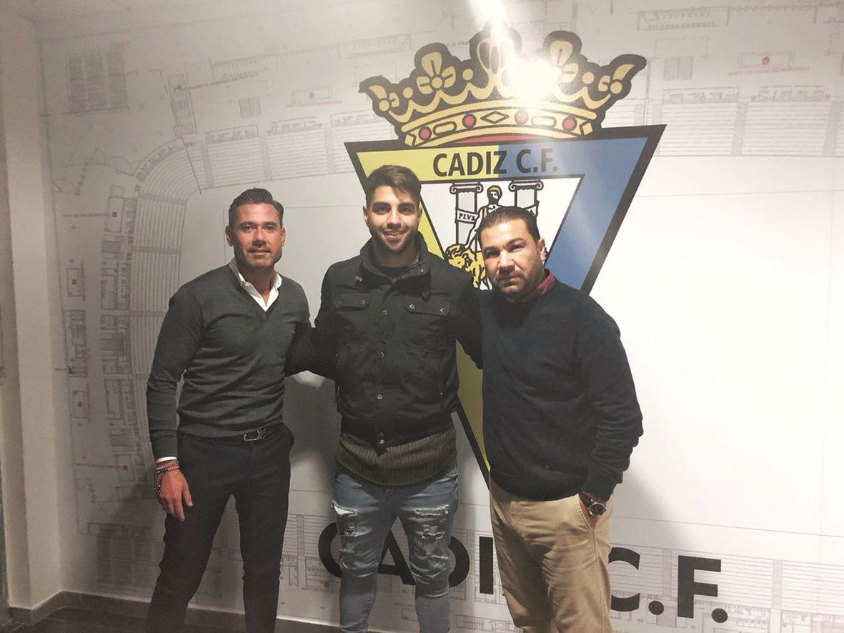 Vigueras, el representante que más jugadores ha traído al Cádiz