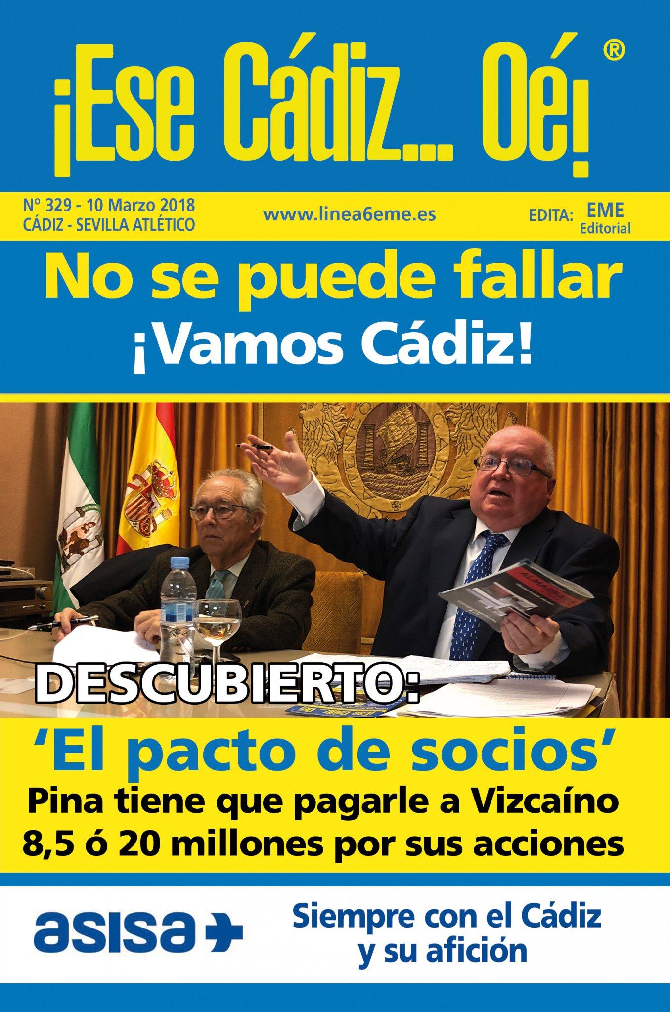 ¡Ese Cádiz…Oé! núm. 329 Temporada 2017/18