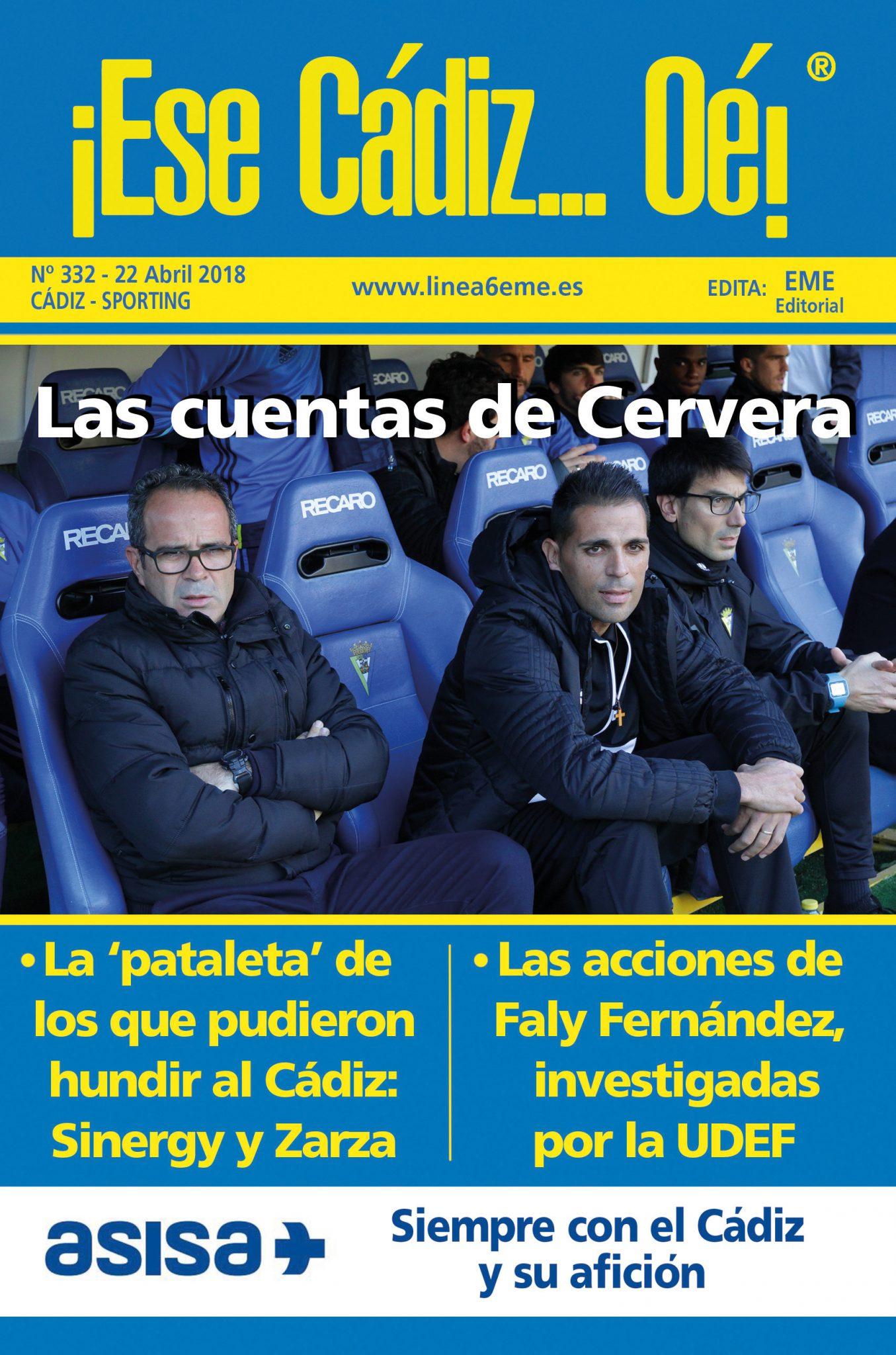 ¡Ese Cádiz…Oé! núm. 332 Temporada 2017/18