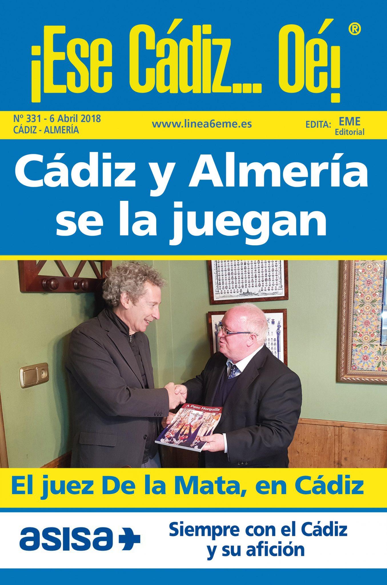 ¡Ese Cádiz…Oé! núm. 331 Temporada 2017/18