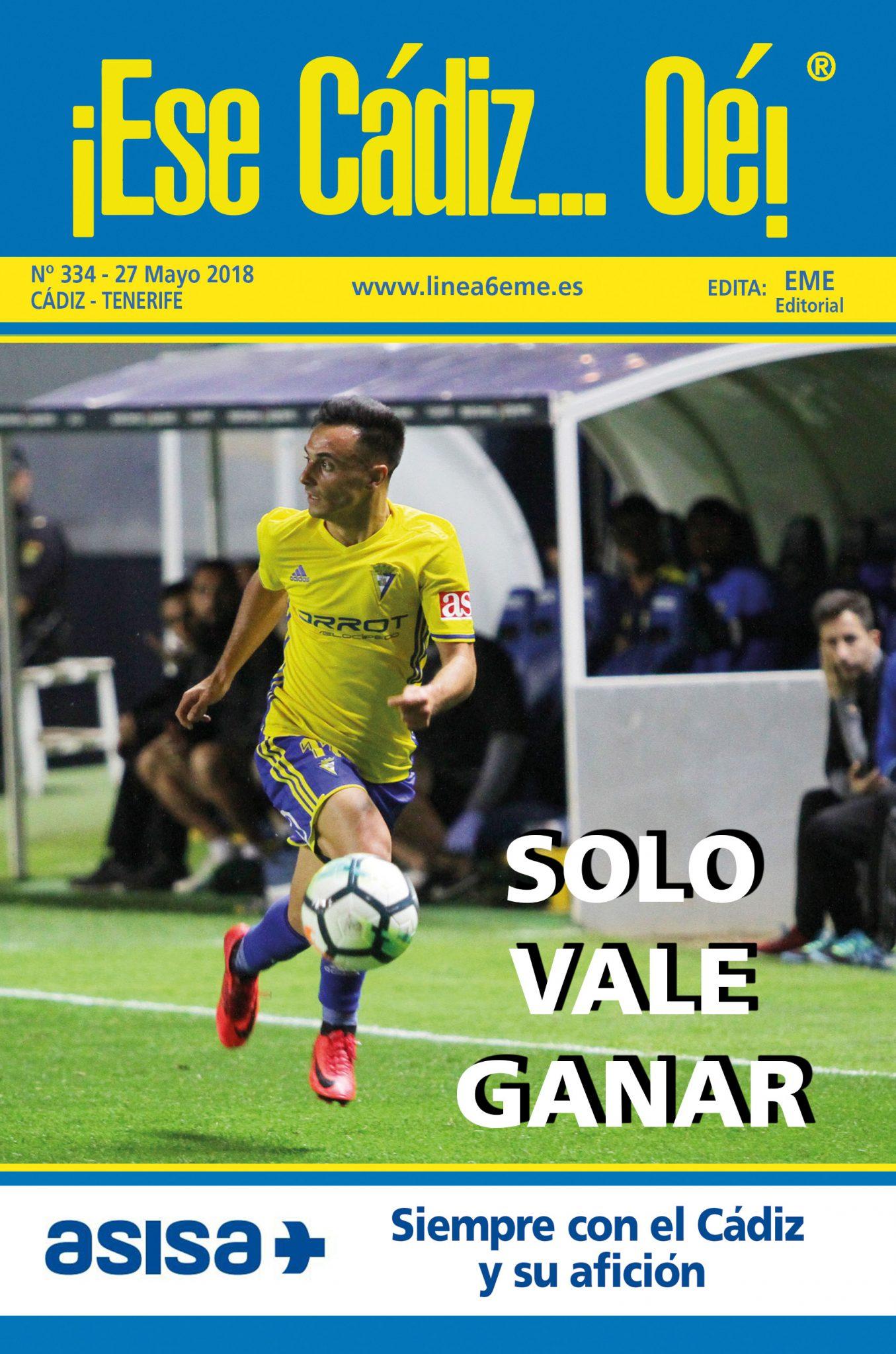 ¡Ese Cádiz…Oé! núm. 334 Temporada 2017/18