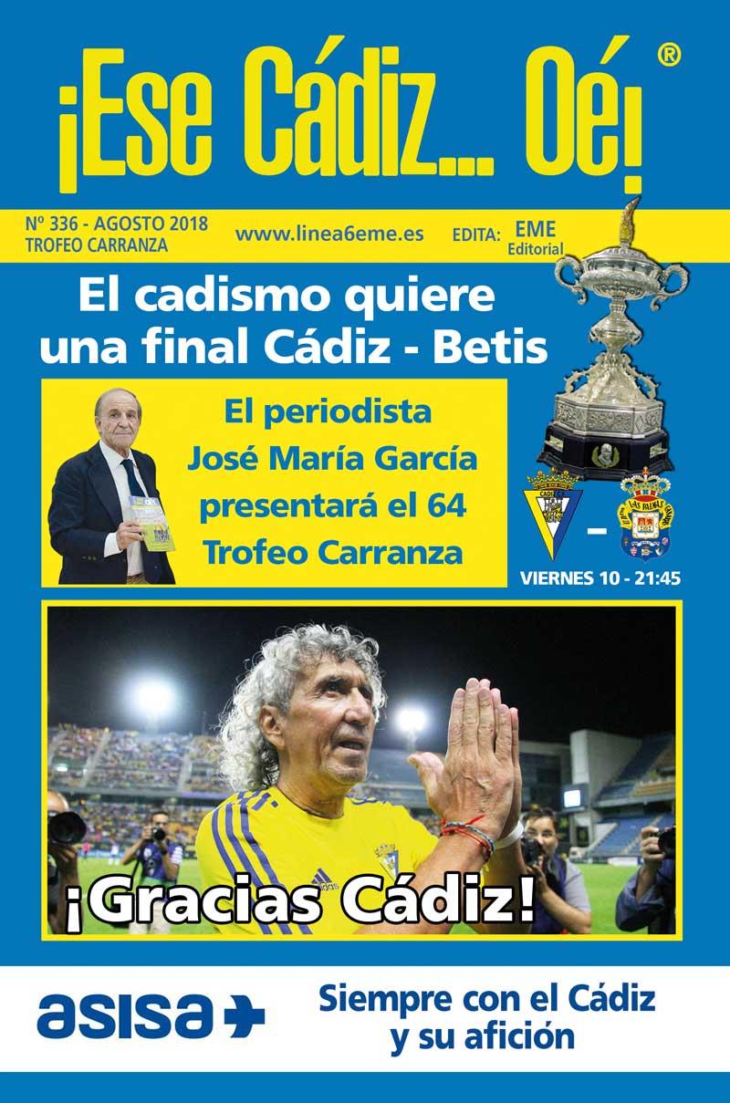 ¡Ese Cádiz…Oé! núm. 336 Trofeo Carranza