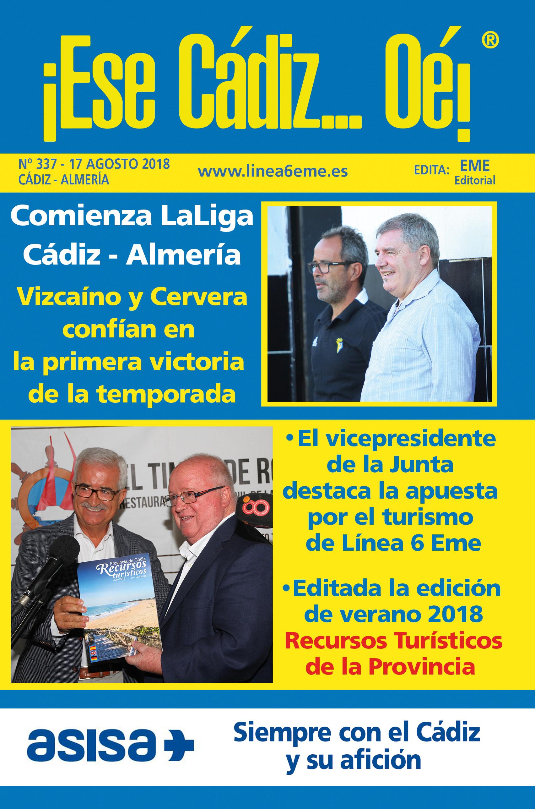 ¡Ese Cádiz…Oé! núm. 337 Temporada 2018/19