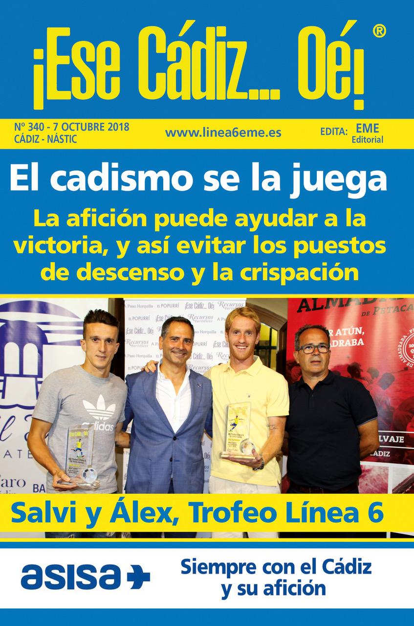 ¡Ese Cádiz…Oé! núm. 340 Temporada 2018/19