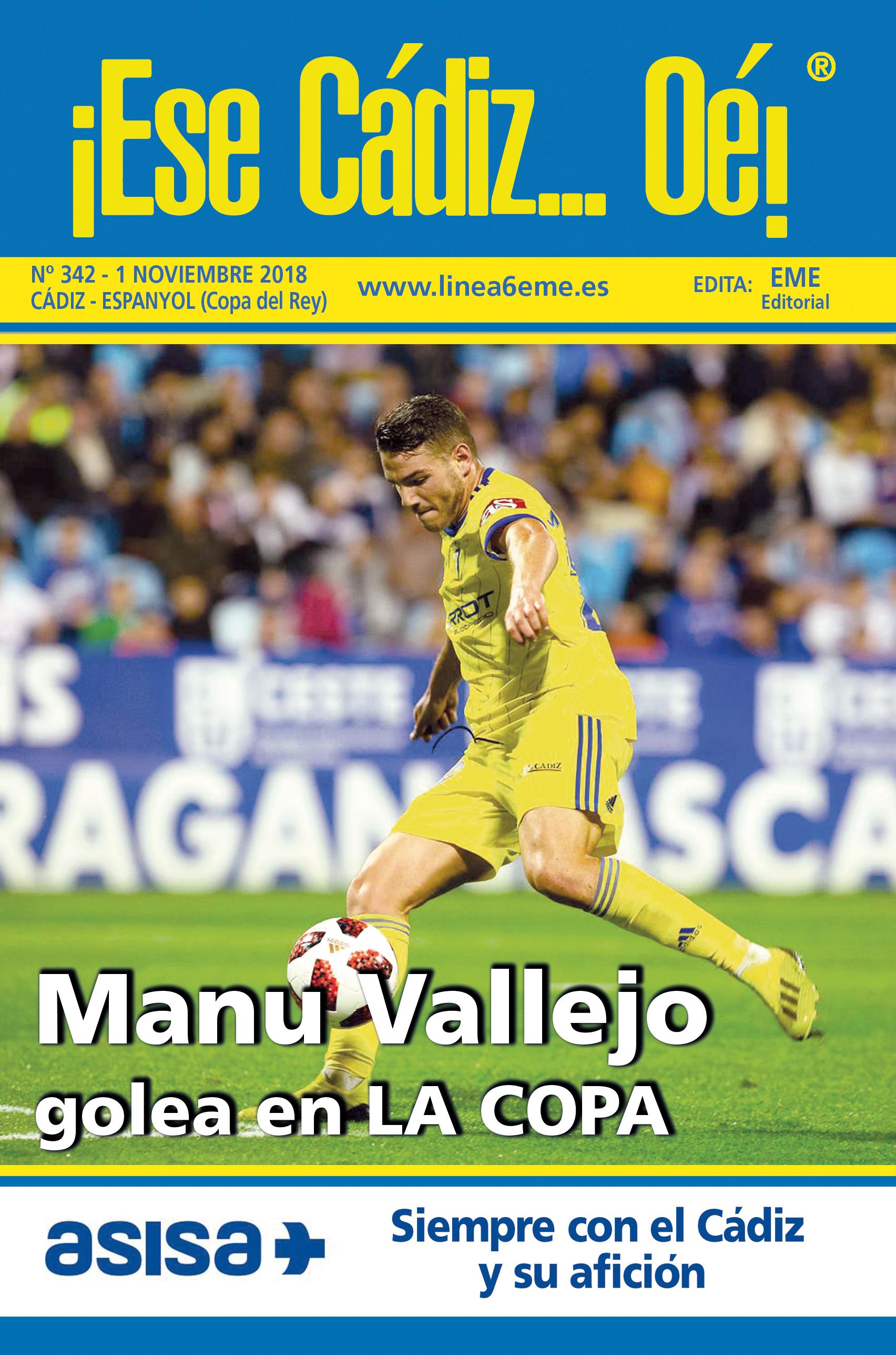 ¡Ese Cádiz…Oé! núm. 342 Temporada 2018/19
