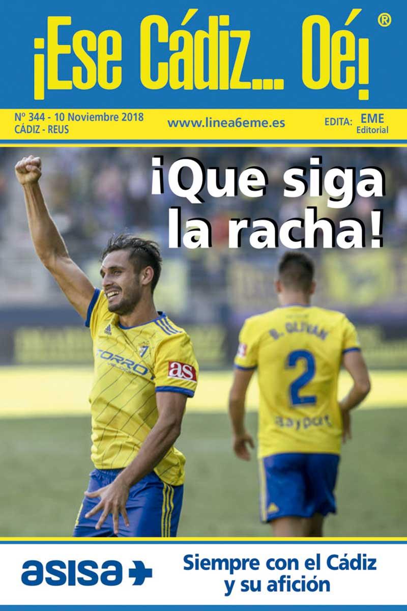 ¡Ese Cádiz…Oé! núm. 344 Temporada 2018/19