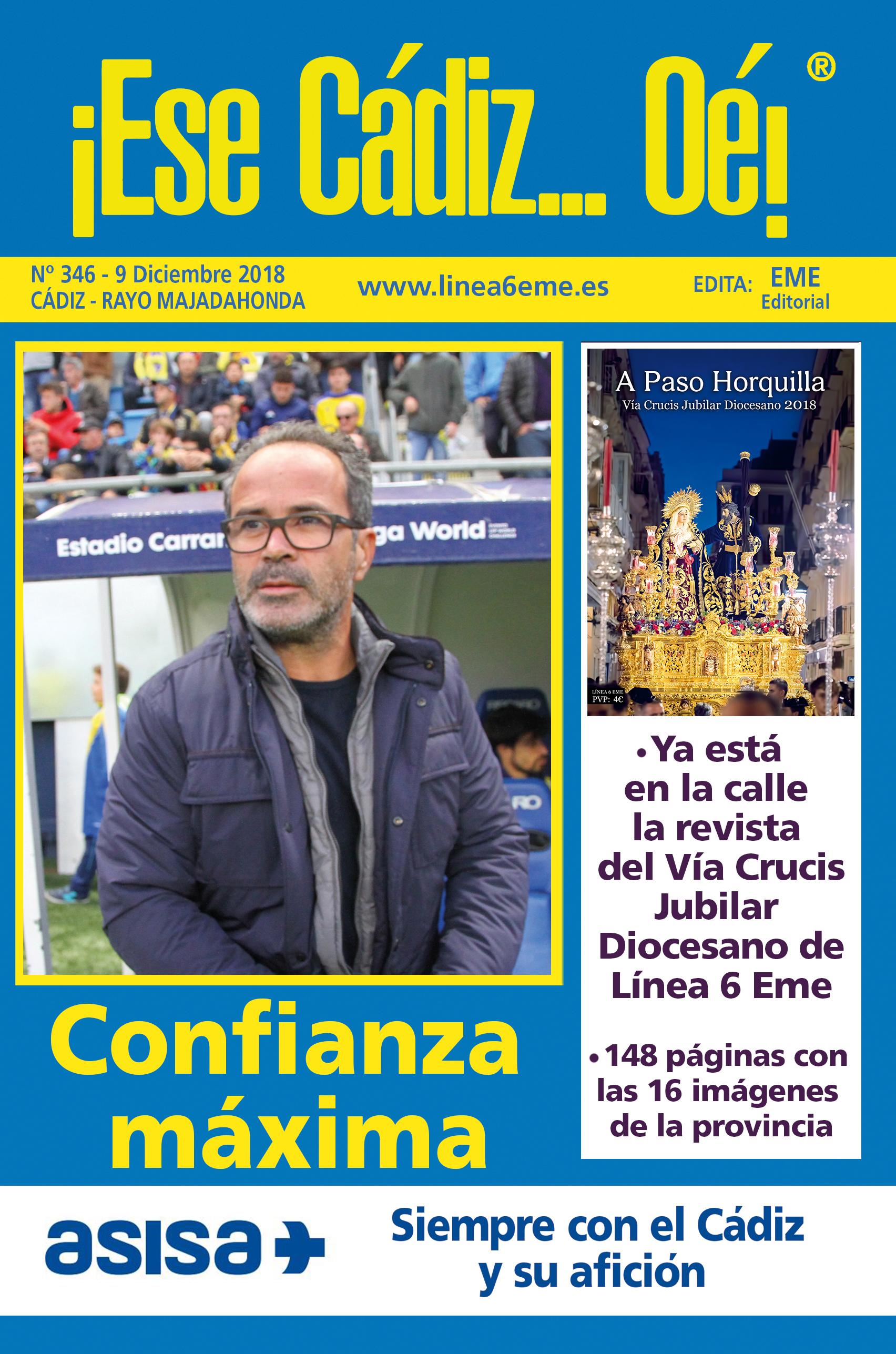 ¡Ese Cádiz…Oé! núm. 346 Temporada 2018/19