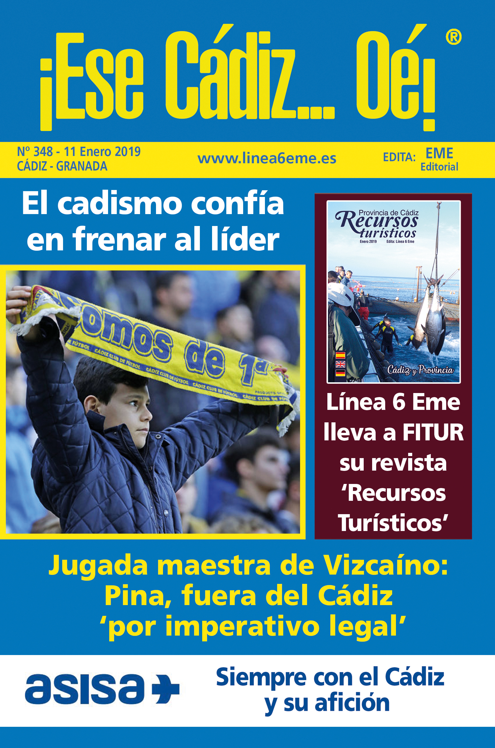¡Ese Cádiz…Oé! núm. 348 Temporada 2018/19
