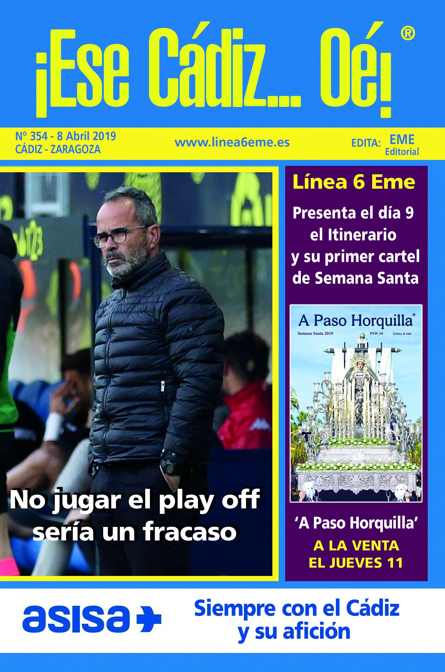 ¡Ese Cádiz…Oé! núm. 354 Temporada 2018/19