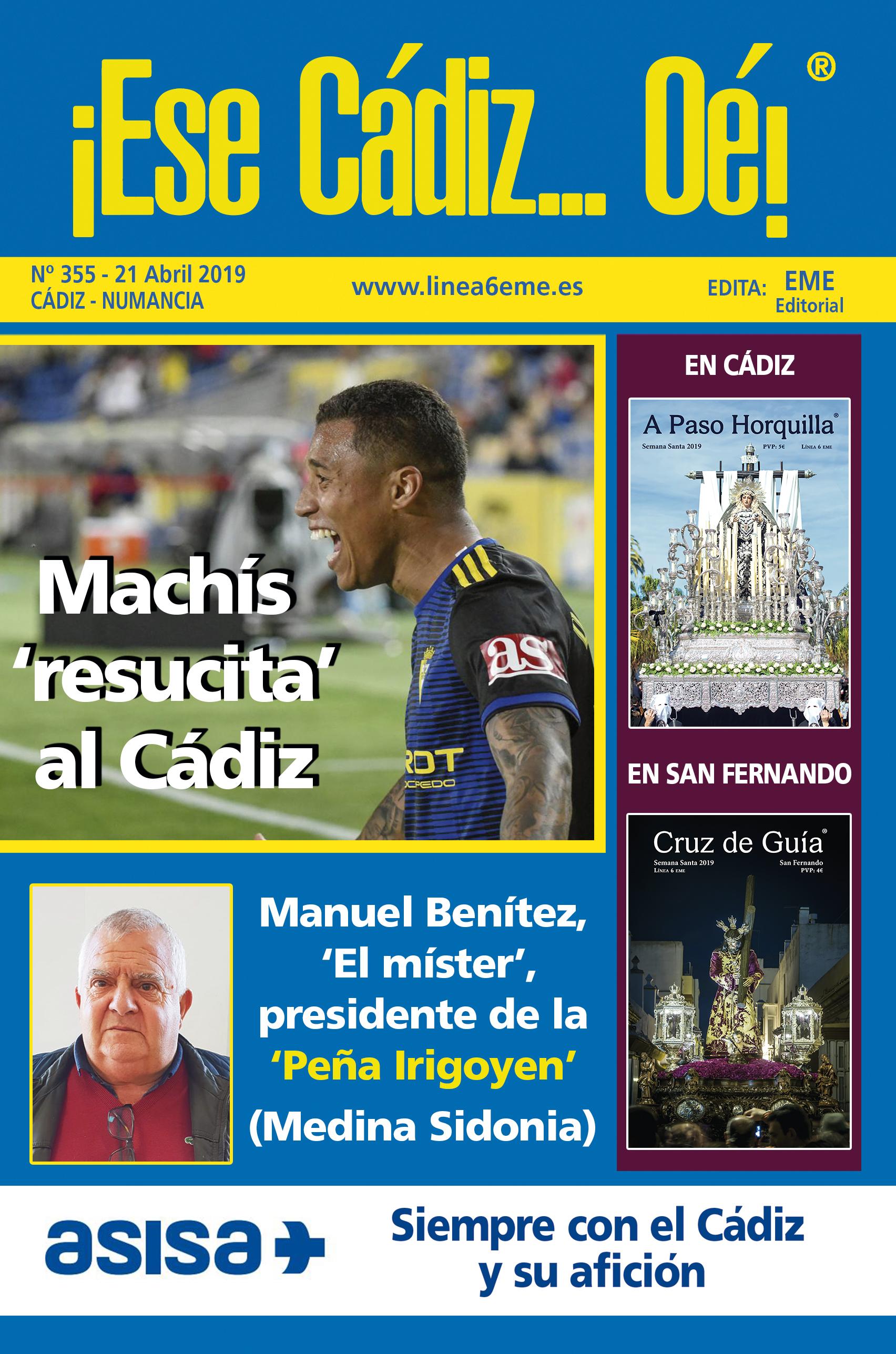 ¡Ese Cádiz…Oé! núm. 355 Temporada 2018/19