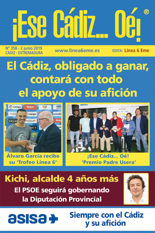 ¡Ese Cádiz…Oé! núm. 358 Temporada 2018/19
