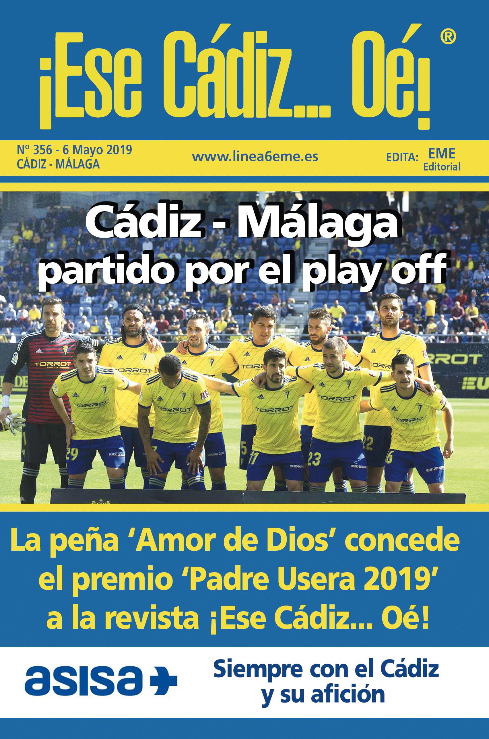 ¡Ese Cádiz…Oé! núm. 356 Temporada 2018/19