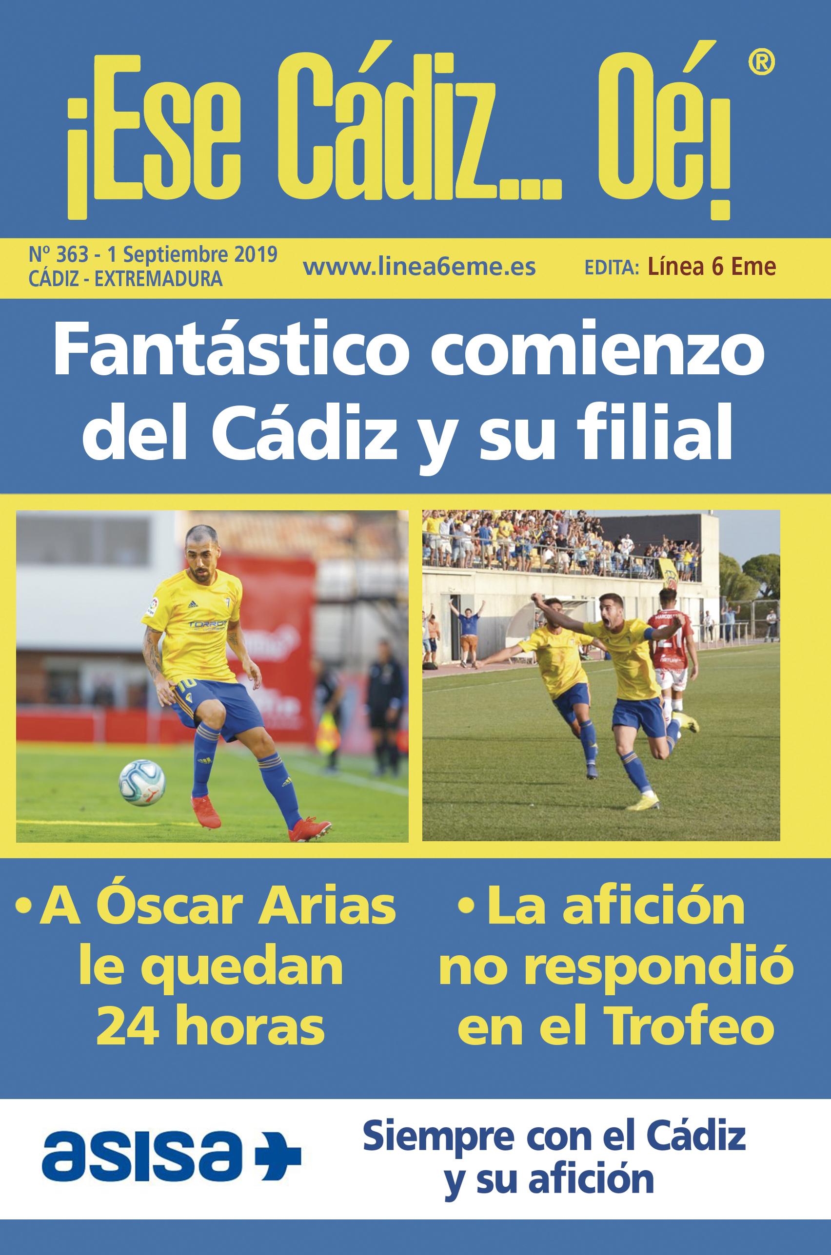 ¡Ese Cádiz…Oé! núm. 363 Temporada 2019/20