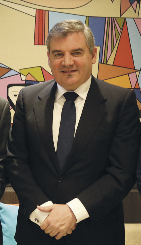 Vizcaíno, protagonista en medios nacionales