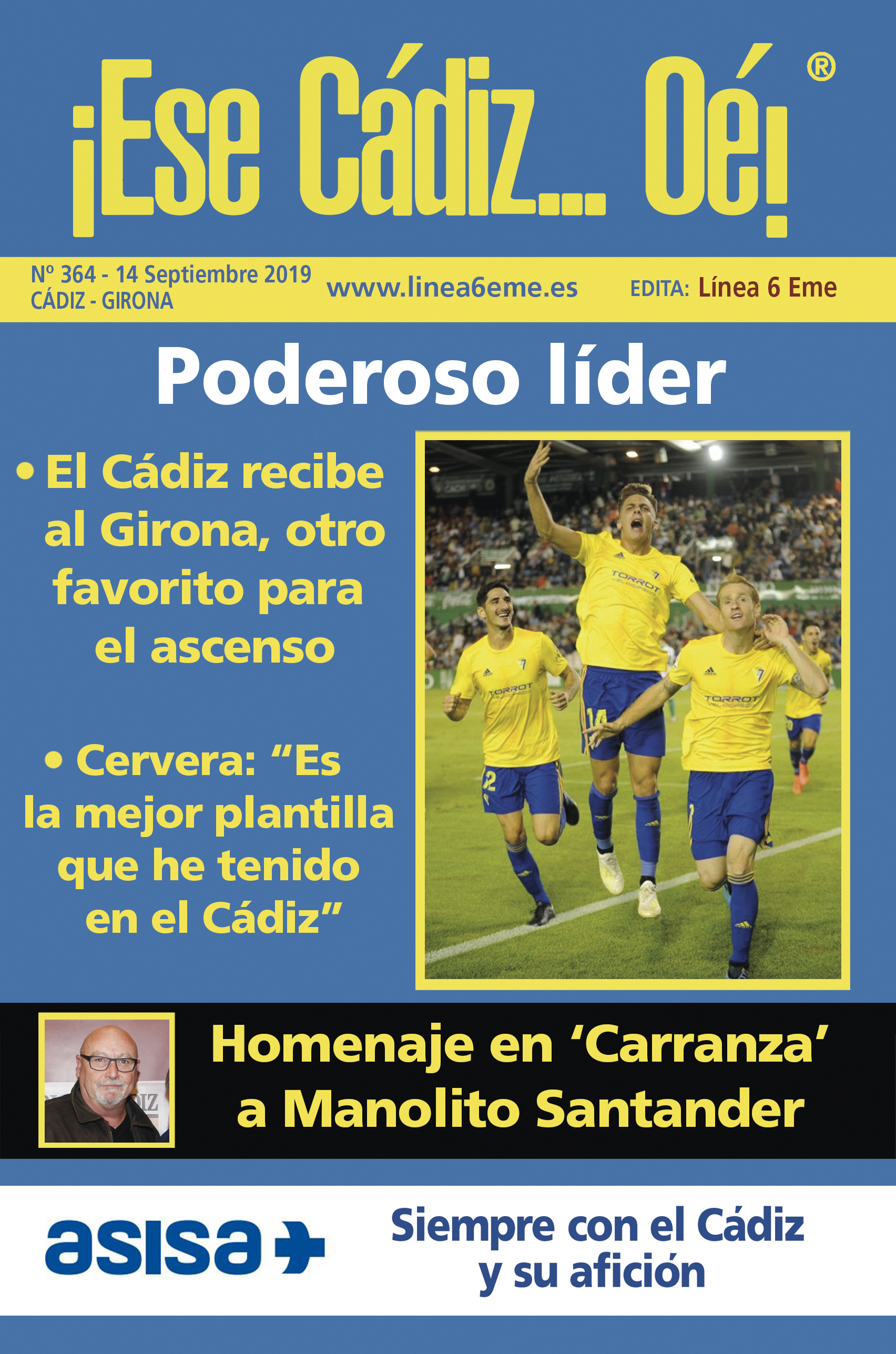 ¡Ese Cádiz…Oé! núm. 364 Temporada 2019/20