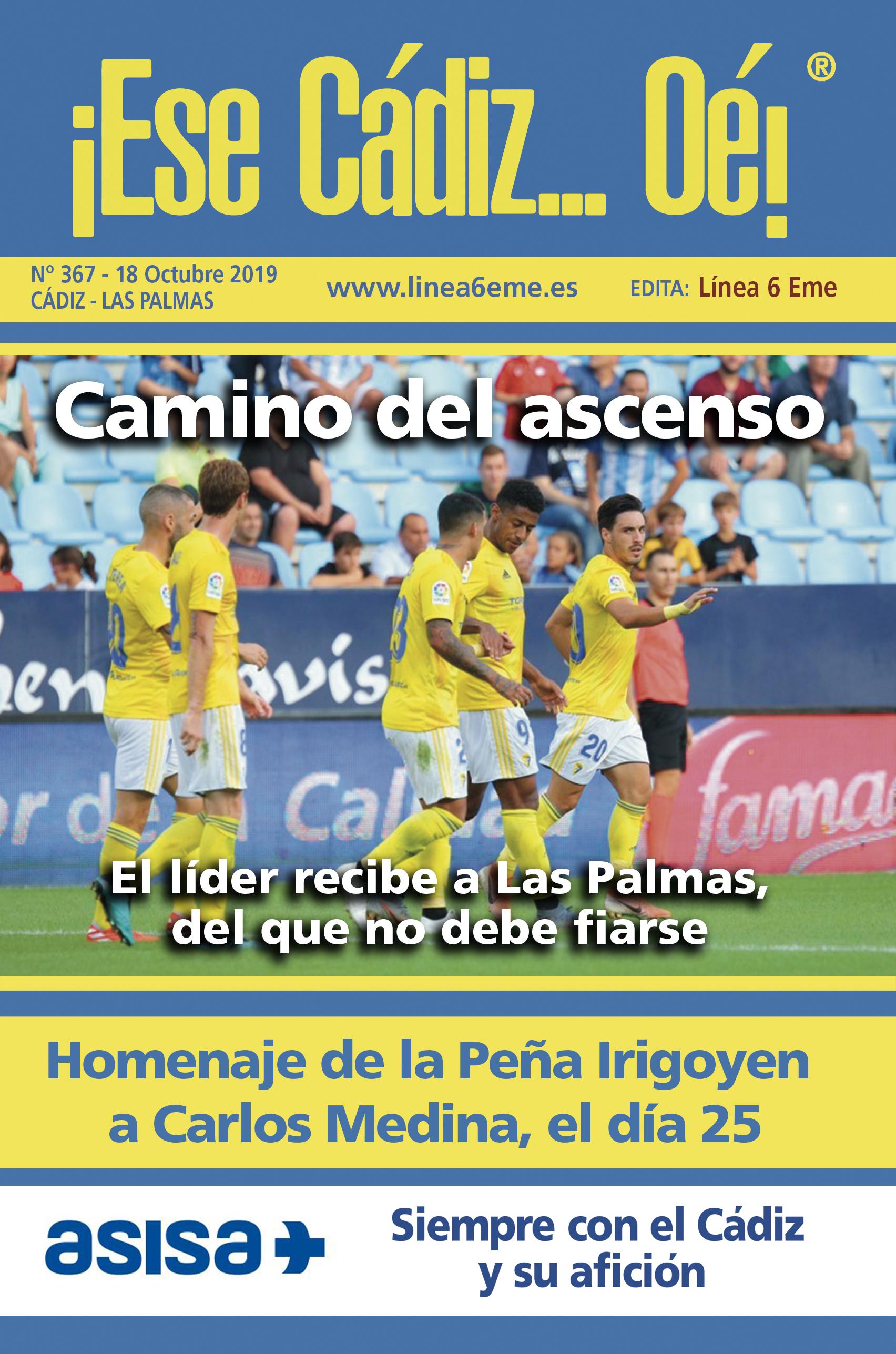 ¡Ese Cádiz…Oé! núm. 367 Temporada 2019/20