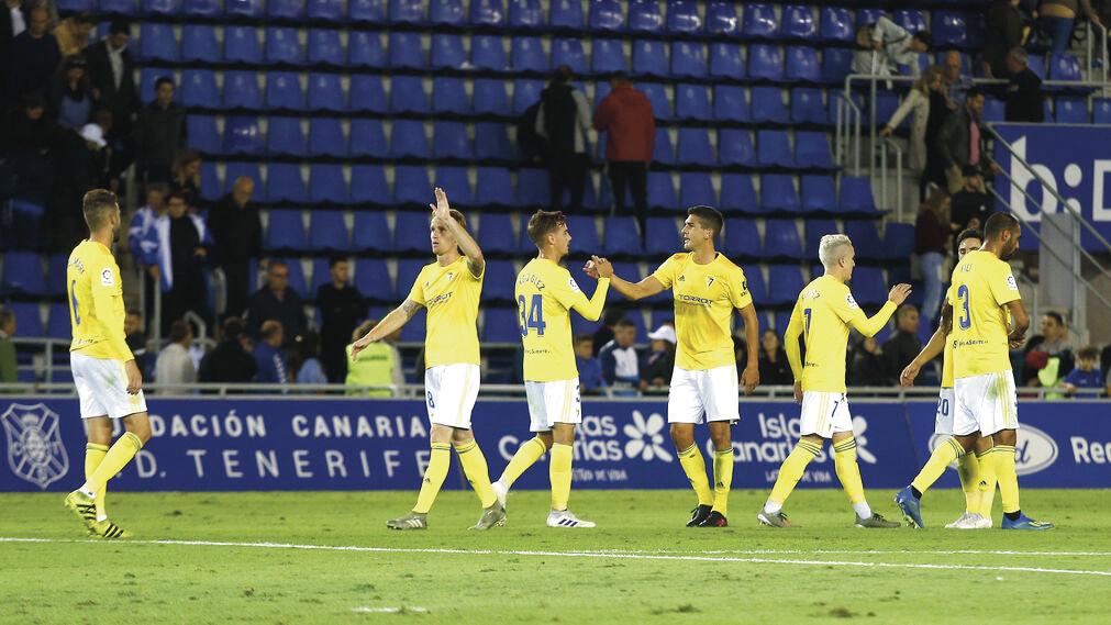 El Cádiz sigue sumando y jugando a ganar