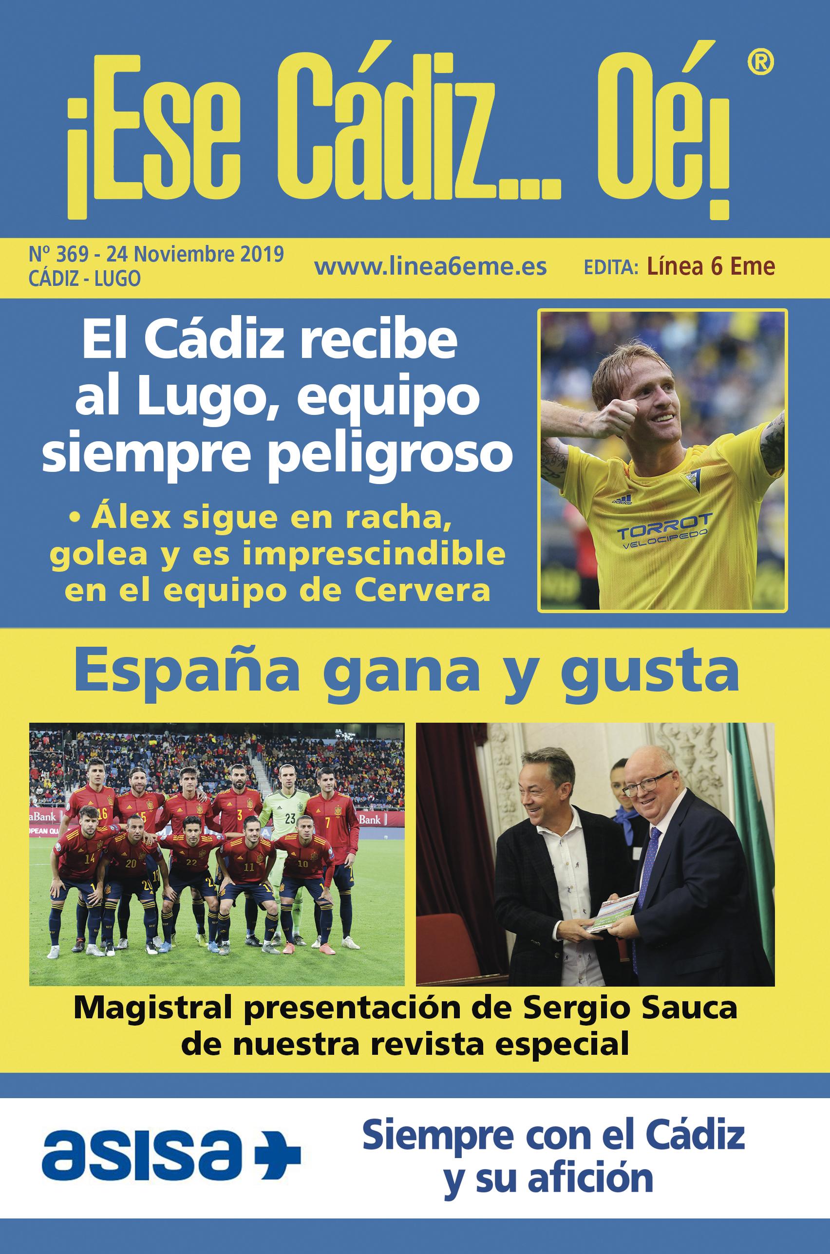 ¡Ese Cádiz…Oé! núm. 369 Temporada 2019/20