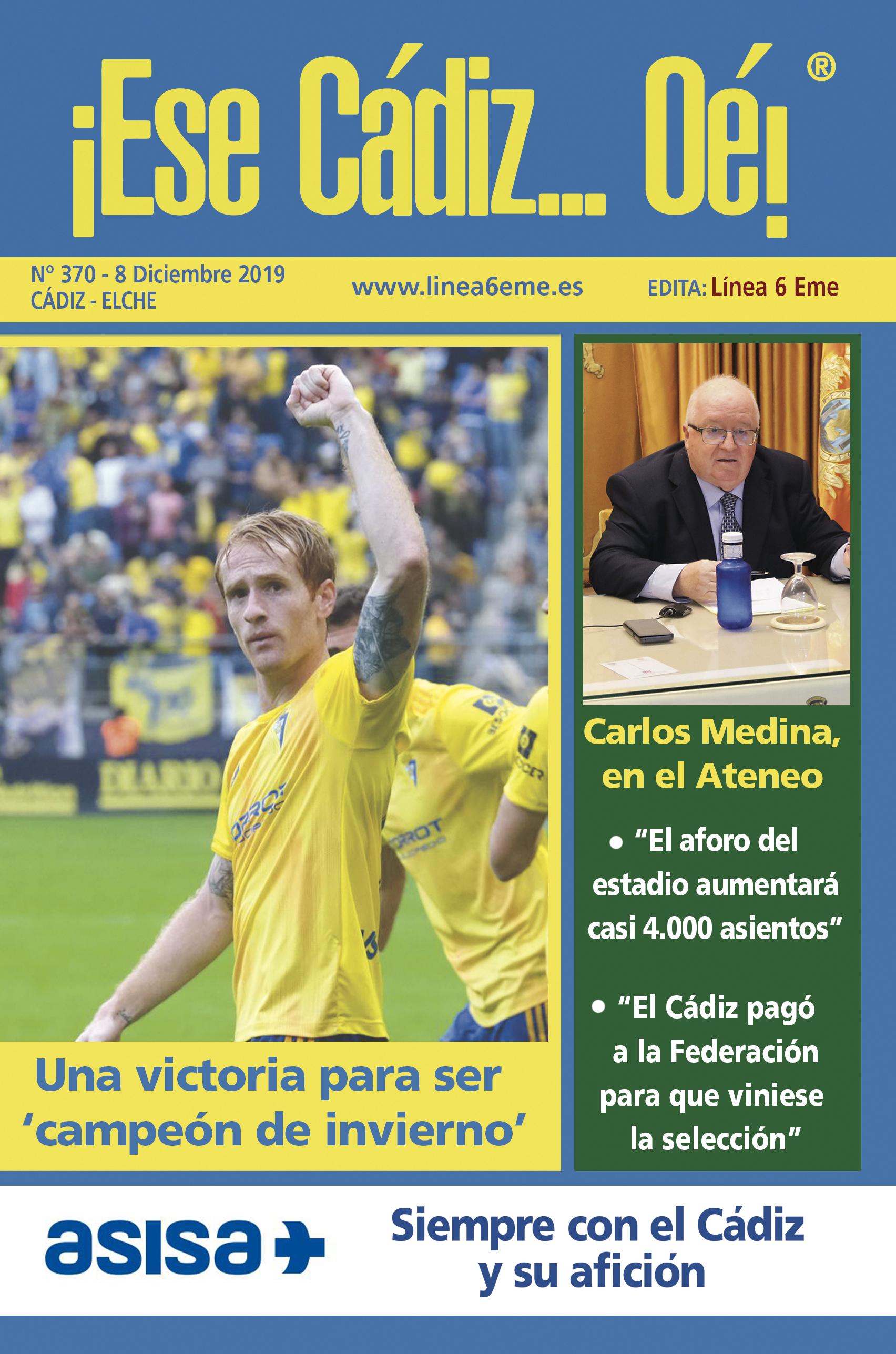 ¡Ese Cádiz…Oé! núm. 370 Temporada 2019/20