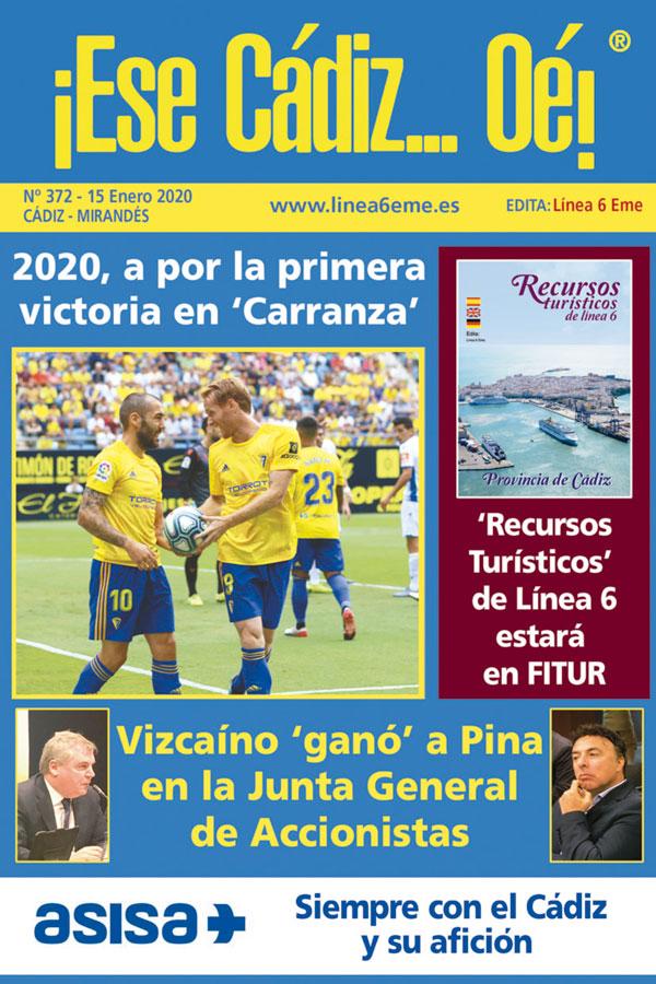 ¡Ese Cádiz…Oé! núm. 372 Temporada 2019/20