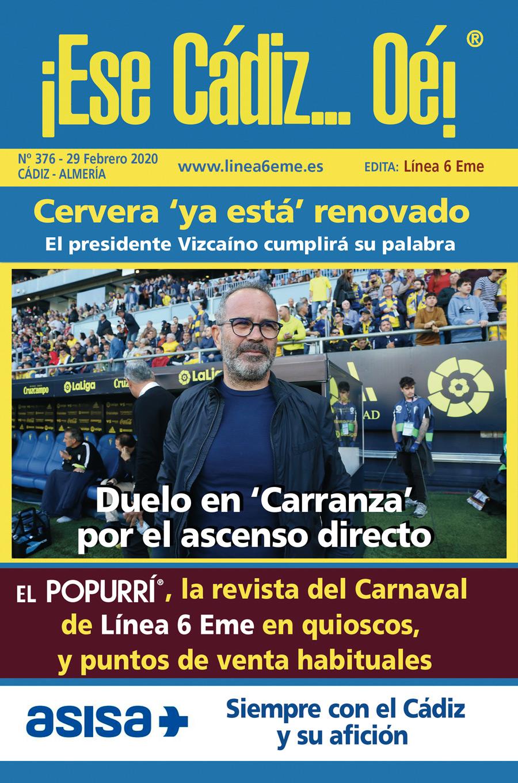 ¡Ese Cádiz…Oé! núm. 376 Temporada 2019/20