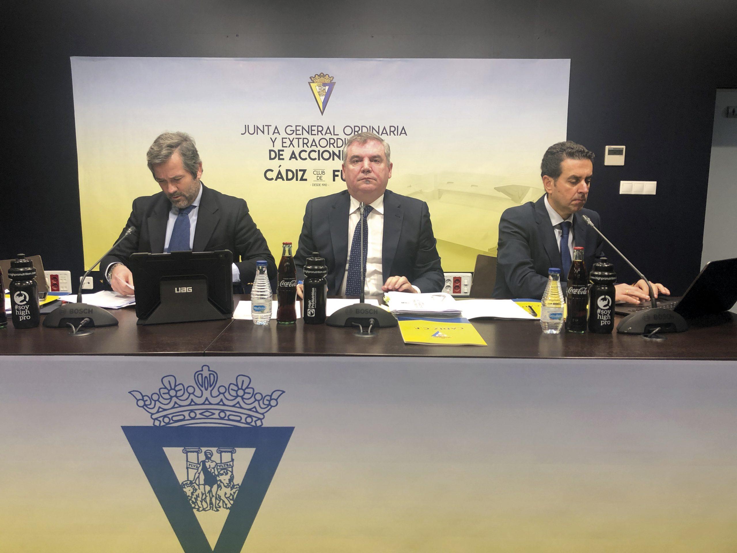 El norteamericano sólo compró un 2% de las acciones del Cádiz