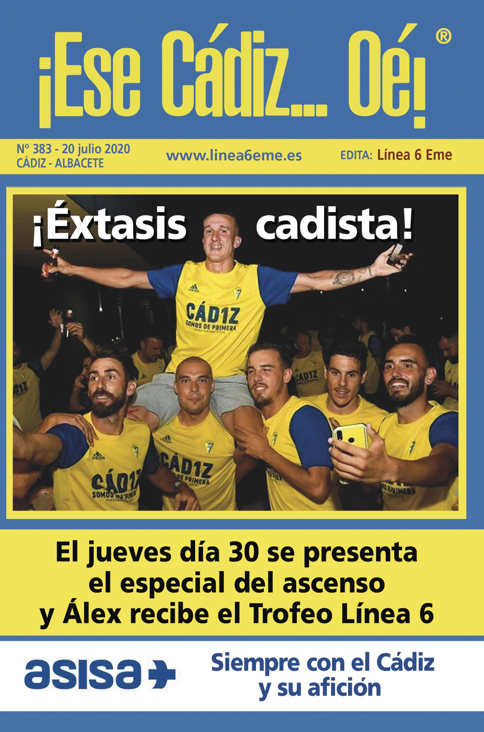 ¡ESE CÁDIZ…OÉ! NÚM. 383 TEMPORADA 2019/20