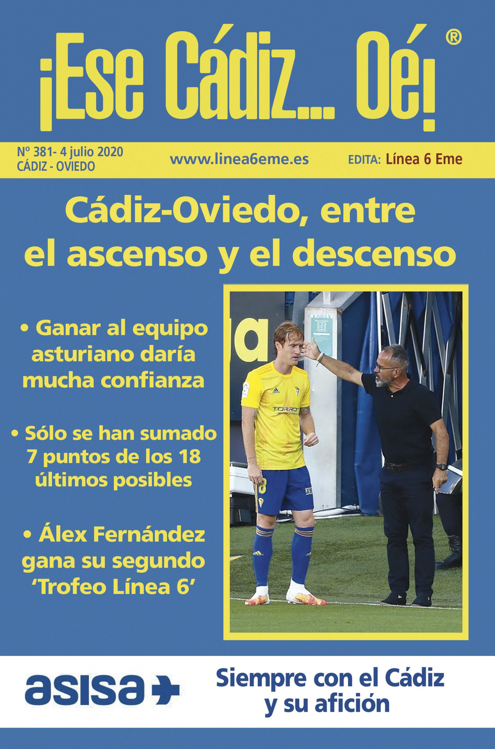 ¡ESE CÁDIZ…OÉ! NÚM. 381 TEMPORADA 2019/20