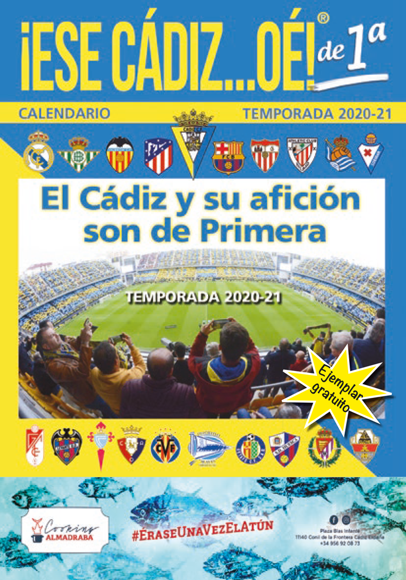 CALENDARIO TEMPORADA 2020/21