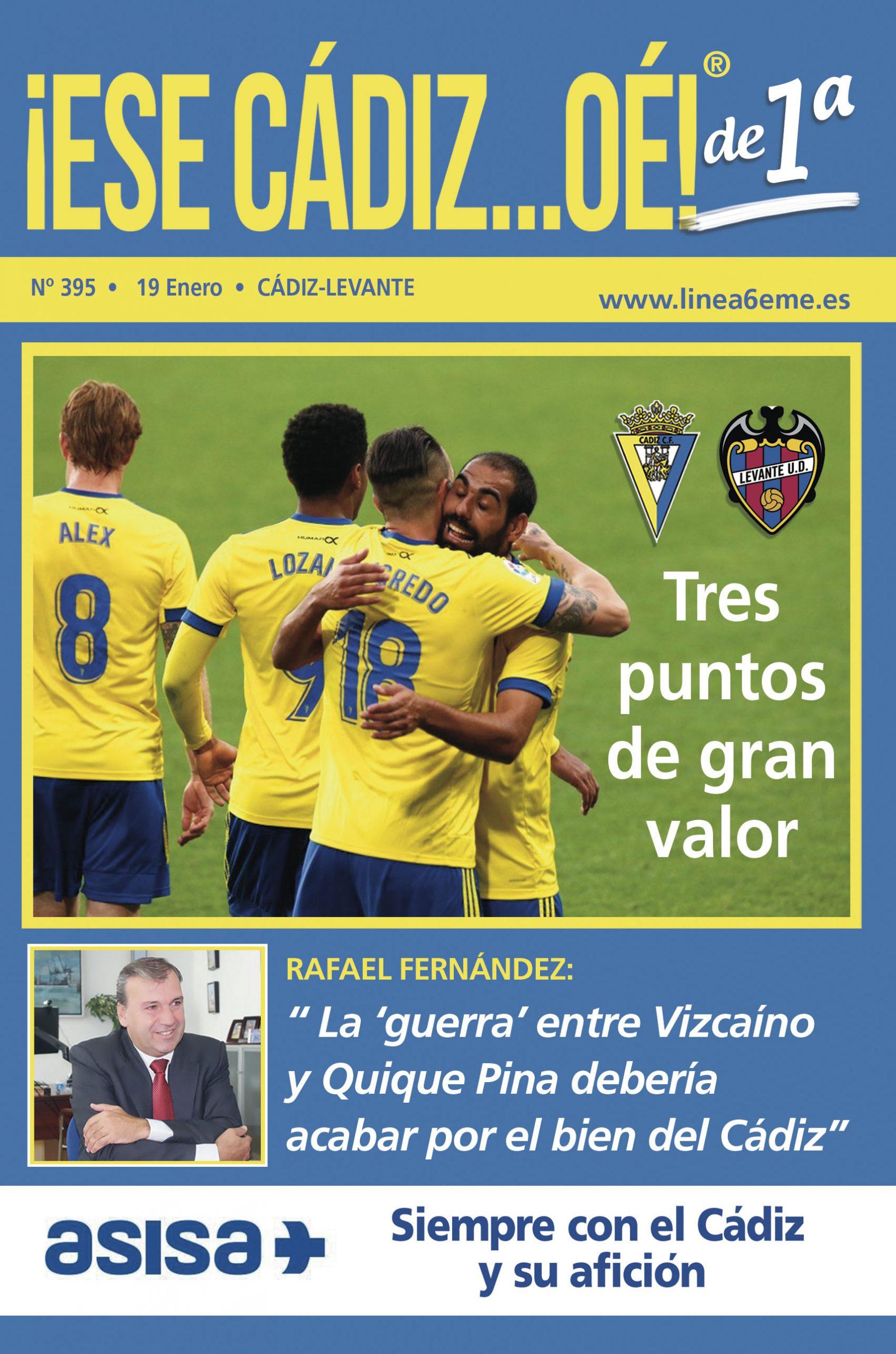 ¡ESE CÁDIZ…OÉ! NÚM. 395 TEMPORADA 2020/21