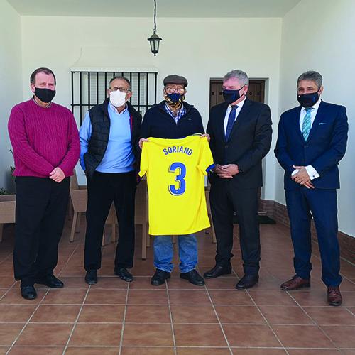 El Cádiz CF homenajea a su historia: Juan Soriano