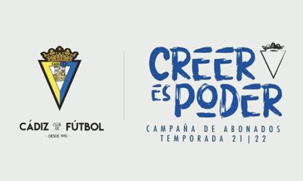 Campaña de abonados Cadiz CF       Temporada 2021/22